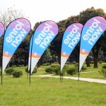 Custom flags and banners Teardrop-Flying-Banner-1