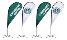 custom flags and banners teardrop flags
