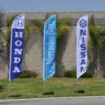 custom flags and banners teardrop banners car yard flags