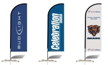 custom flags and banners feather flag