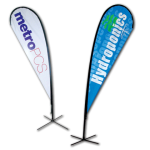 custom flags and banners teardrop banners