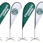 custom flags and banners promotional banners teardrop banners