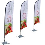 custom flags and banners promotional flags teardrop banners 4
