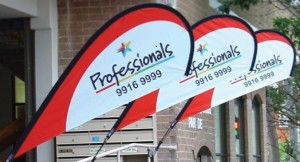 custom flags and banners real estate the professionals